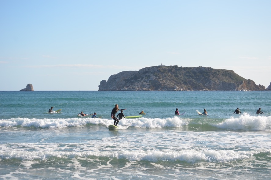 Curs Adults surf costa brava 021