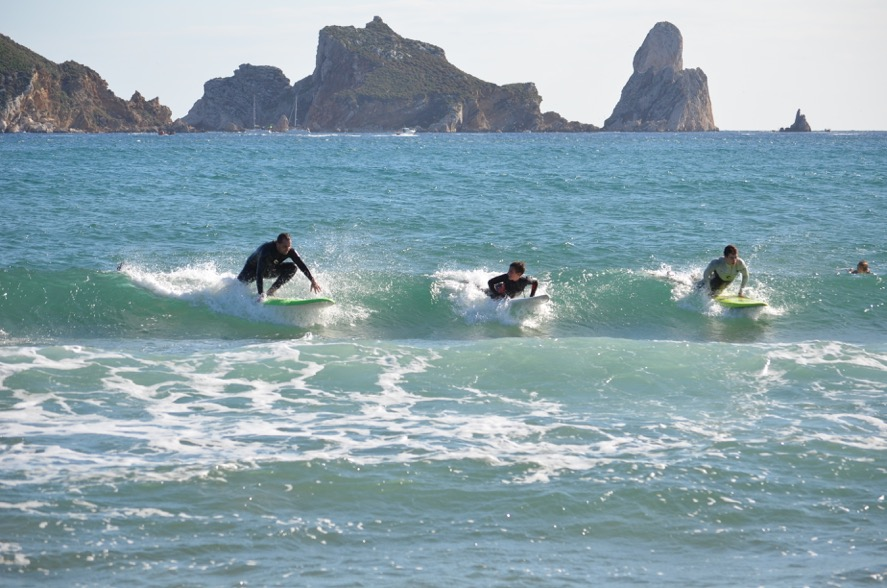 Curs Adults surf costa brava 264