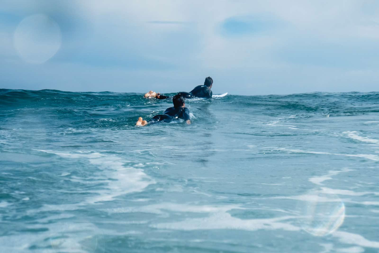 Illes Medes surfing